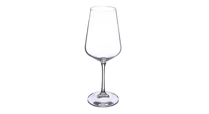 Ginko Wine Glass Set of 6 (transparent) by Urban Ladder - Cross View Design 1 - 377539