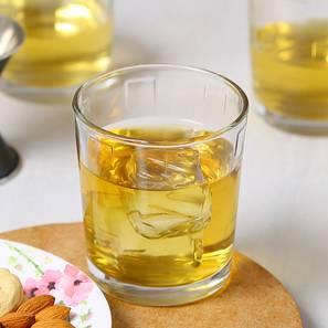 Kyvos whiskey glass set of 6 transparent lp