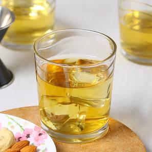 Kyma whiskey glass set of 6 transparent lp