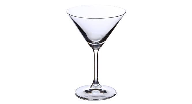 lara Cocktail Glass Set of 6 (transparent) by Urban Ladder - Cross View Design 1 - 377686
