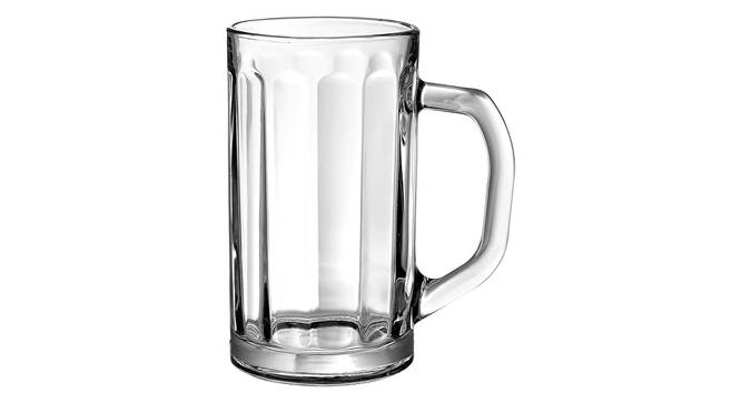 Nicol Beer Glass Set of 2 (transparent) by Urban Ladder - Cross View Design 1 - 377736