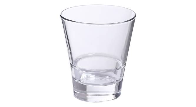 Oxford Whiskey Glass Set of 6 (transparent) by Urban Ladder - Cross View Design 1 - 377783