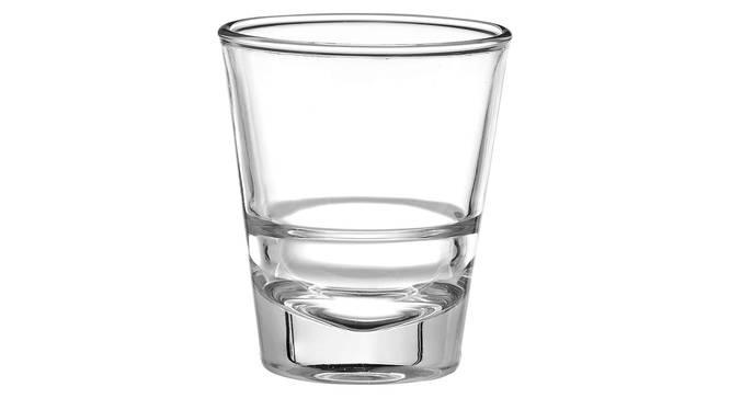 Oxford Shot Glass Set of 6 (transparent) by Urban Ladder - Cross View Design 1 - 377785
