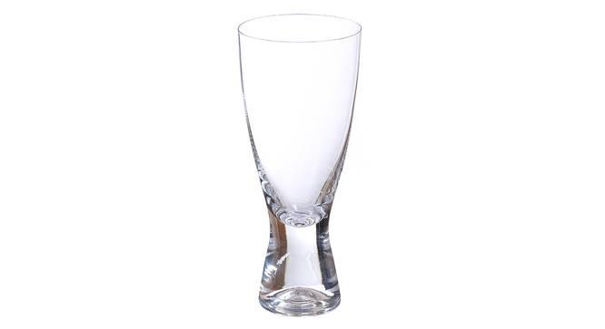Samba Beer Glass Set of 6 (transparent) by Urban Ladder - Cross View Design 1 - 377838
