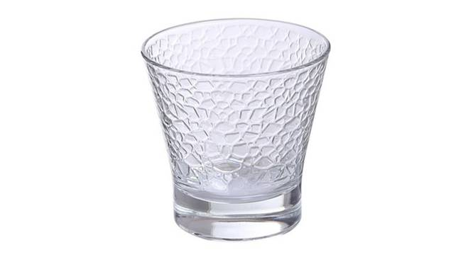 Rome Whiskey Glass Set of 6 (transparent) by Urban Ladder - Cross View Design 1 - 377843