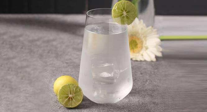 Sandra Cocktail Glass Set of 6 (transparent) by Urban Ladder - Front View Design 1 - 377888