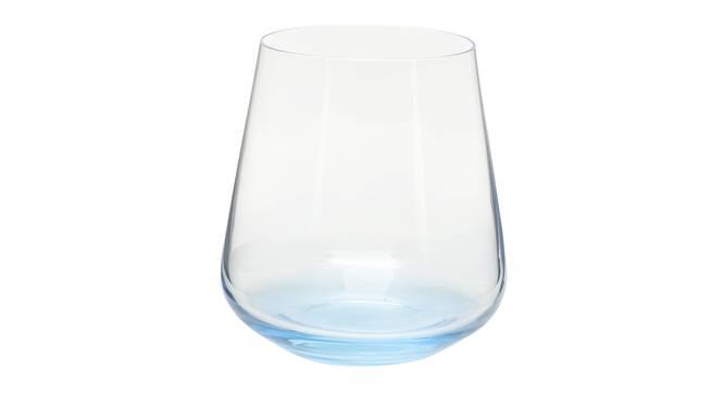 Siesta Whiskey Glass Set of 6 (Blue) by Urban Ladder - Cross View Design 1 - 377946