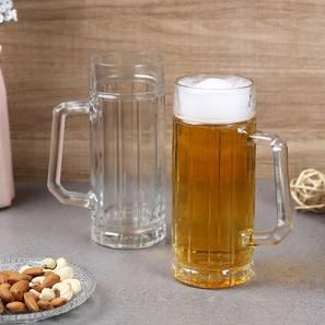 Torin beer glass set of 2 transparent lp