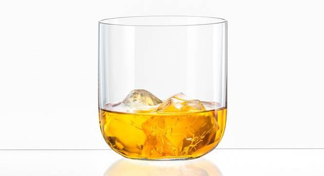 Uma Whiskey Glass Set of 6 (transparent) by Urban Ladder - Cross View Design 1 - 377987