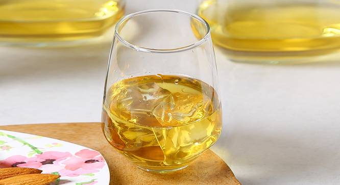 Wren Whiskey Glass Set of 6 (transparent) by Urban Ladder - Front View Design 1 - 378030