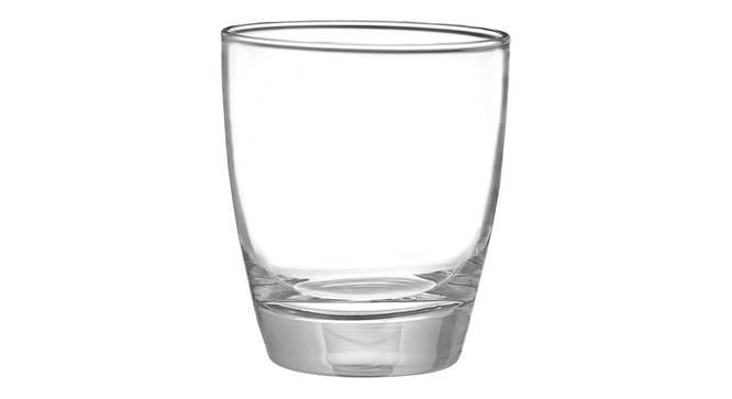 Viv Whiskey Glass Set of 6 (transparent) by Urban Ladder - Cross View Design 1 - 378039
