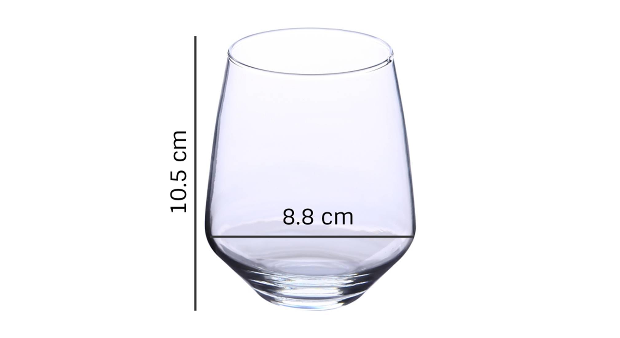 Wren whiskey glass set of 6 transparent 5
