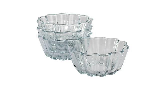 Frankie Baking Dishes Set of 4 (Transperant) by Urban Ladder - Design 1 Half View - 378235