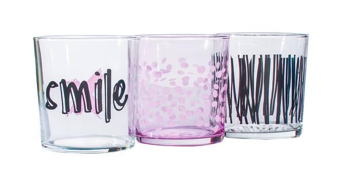 Jett Drinking Glasses Set of 6 (Transperant) by Urban Ladder - Front View Design 1 - 378344