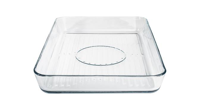 Quinn Baking Tray (Transperant) by Urban Ladder - Front View Design 1 - 378465
