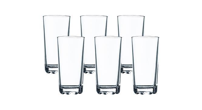 Sawyer Drinking Glasses Set of 6 (Transperant) by Urban Ladder - Front View Design 1 - 378473