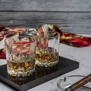 Sia whiskey glasses set of 6 transparent lp