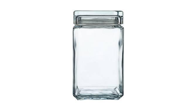 Stella Jars Set of 2 (Transperant) by Urban Ladder - Front View Design 1 - 378538