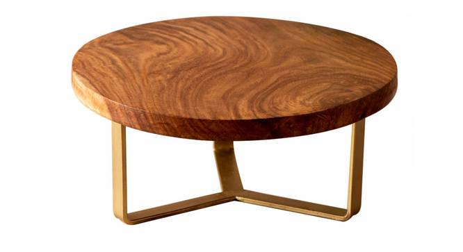 Adelaide Cake Stand (Brown & Gold) by Urban Ladder - Front View Design 1 - 378576