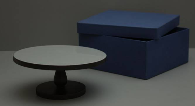 Alice Cake Stand (Grey & Black) by Urban Ladder - Front View Design 1 - 378580