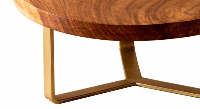 Adelaide Cake Stand (Brown & Gold) by Urban Ladder - Design 1 Close View - 378596
