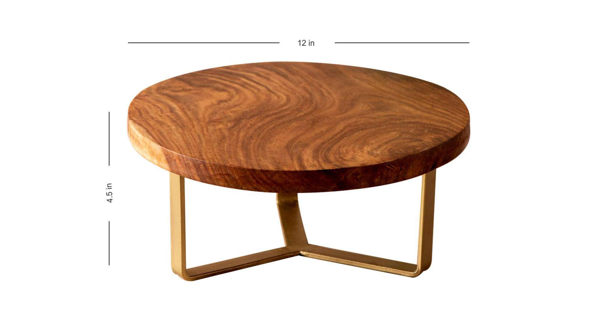 Adelaide cake stand  brown gold1111 5