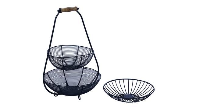 Ansen Fruit Basket (Black) by Urban Ladder - Front View Design 1 - 378636
