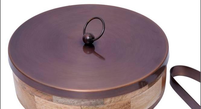 Charlotte Casserole (Brown & Copper) by Urban Ladder - Cross View Design 1 - 378924