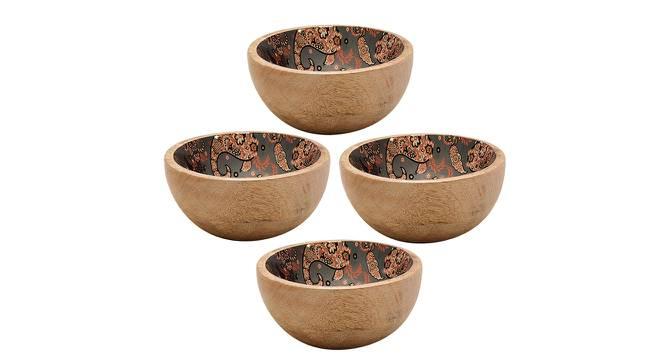 Hazel Bowls (Grey, Set Of 4 Set) by Urban Ladder - Cross View Design 1 - 379205