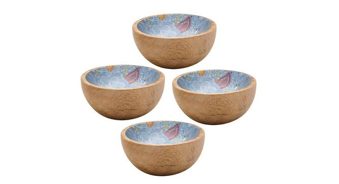 Ione Bowls (Blue, Set Of 4 Set) by Urban Ladder - Cross View Design 1 - 379272