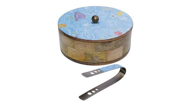 Legacy Chapati Box (Blue) by Urban Ladder - Cross View Design 1 - 379393