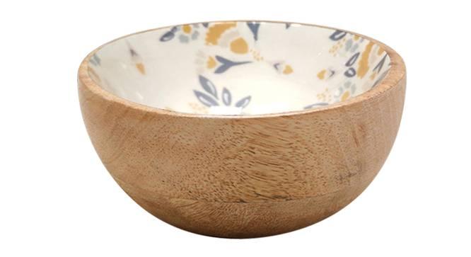 Lola Bowls (White, Single Set) by Urban Ladder - Cross View Design 1 - 379450