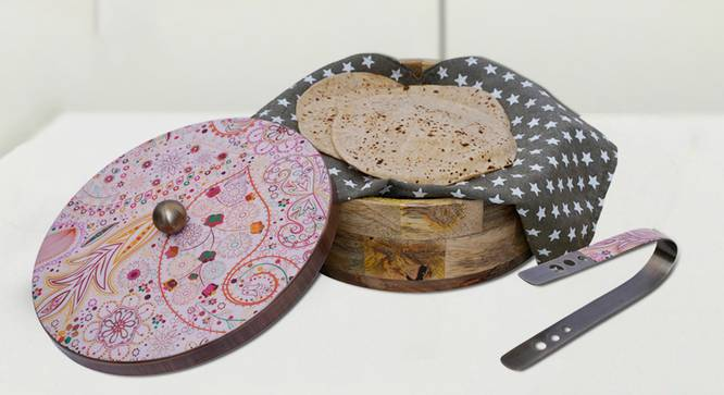 Maren Chapati Box (Pink) by Urban Ladder - Front View Design 1 - 379511