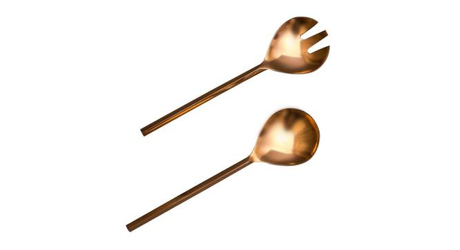 Orlando Spoon & Fork - Set of 2 (Copper) by Urban Ladder - Cross View Design 1 - 379830
