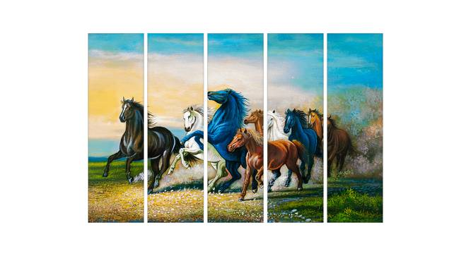 Almond Wall Art by Urban Ladder - Front View Design 1 - 380226