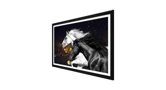 Daja Wall Art (Black) by Urban Ladder - Cross View Design 1 - 380329