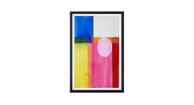 Derma Wall Art (Pink) by Urban Ladder - Front View Design 1 - 380397