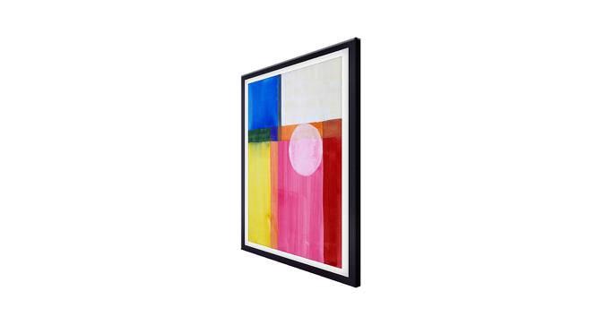 Derma Wall Art (Pink) by Urban Ladder - Cross View Design 1 - 380413