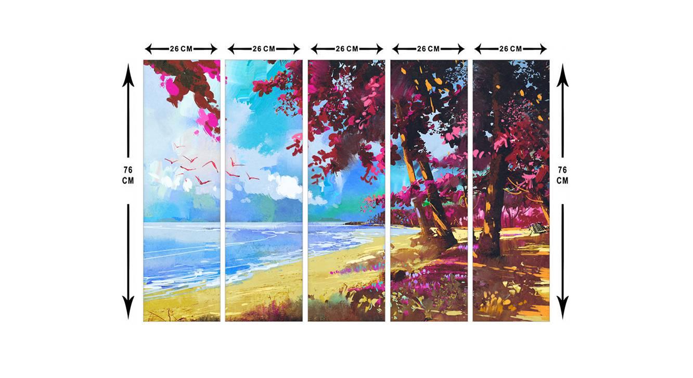 Ileena wall art set of 5 6