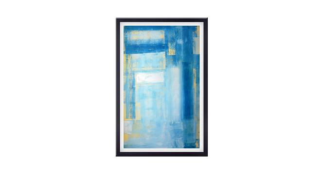 Maise Wall Art (Sky Blue) by Urban Ladder - Front View Design 1 - 380581