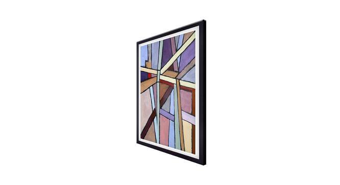 Lilac Wall Art by Urban Ladder - Cross View Design 1 - 380597