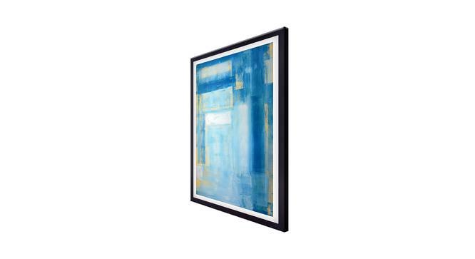 Maise Wall Art (Sky Blue) by Urban Ladder - Cross View Design 1 - 380598