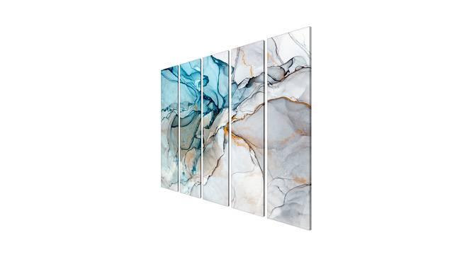 Parmin Wall Art (Grey) by Urban Ladder - Cross View Design 1 - 380678