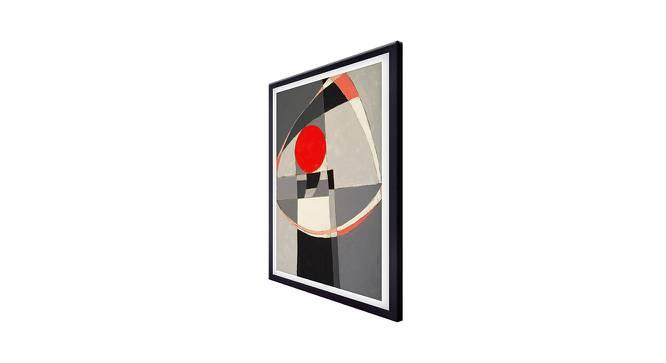 Olin Wall Art (Grey) by Urban Ladder - Cross View Design 1 - 380682