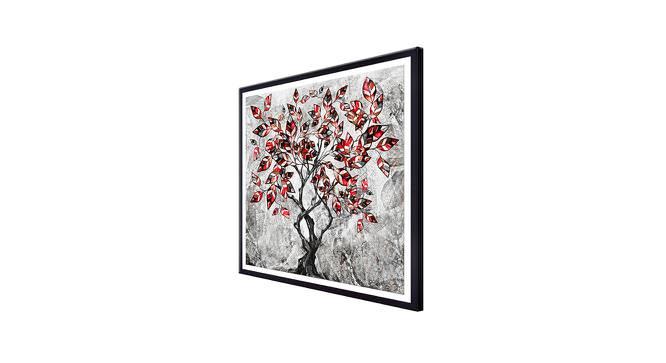 Shelan Wall Art (Grey) by Urban Ladder - Cross View Design 1 - 380761