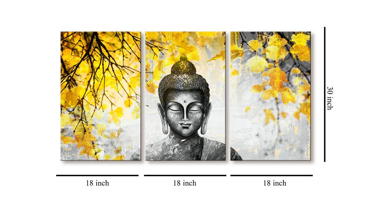 Sakini wall art set of 3 6