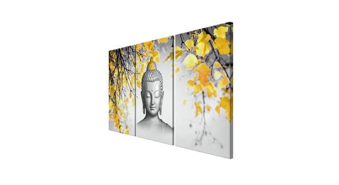 Urmi Wall Art (Grey) by Urban Ladder - Cross View Design 1 - 380825