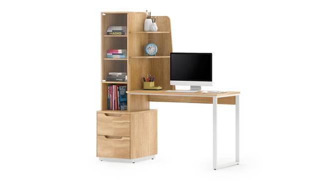 Sidney Study Table (Rustic Oak Finish) by Urban Ladder - Design 1 Details - 380942