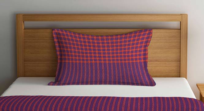 Charlie Bedcover (Purple, Single Size) by Urban Ladder - Front View Design 1 - 382138
