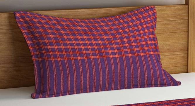 Charlie Bedcover (Purple, Single Size) by Urban Ladder - Cross View Design 1 - 382146